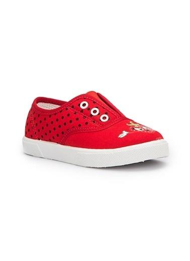 Pink Step Sneakers Kırmızı